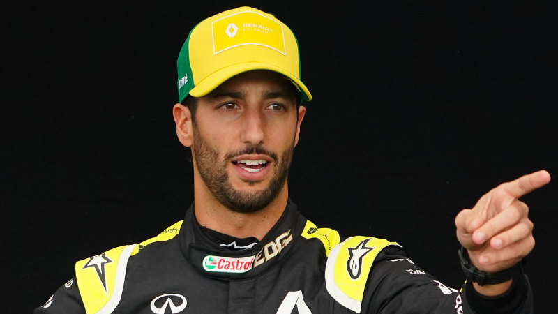 Why Daniel Ricciardo passed up the chance to join Ferrari - Sydney Morning Herald