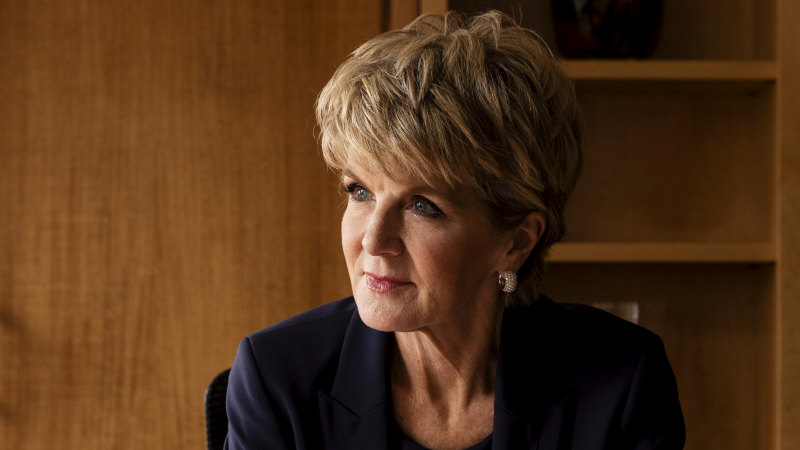 Julie Bishop urges 'calm and considered' diplomacy with Beijing - Sydney Morning Herald