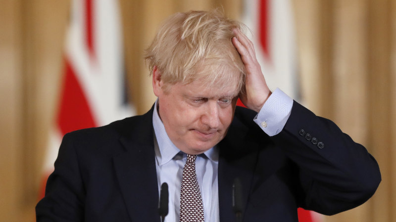 Britain's Prime Minister, Health Secretary and Chief Medical Officer all hit by coronavirus in a single day - Sydney Morning Herald