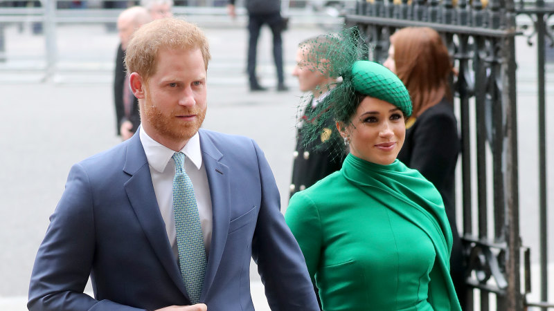 Prince Harry and wife Meghan blacklist British tabloids - Sydney Morning Herald