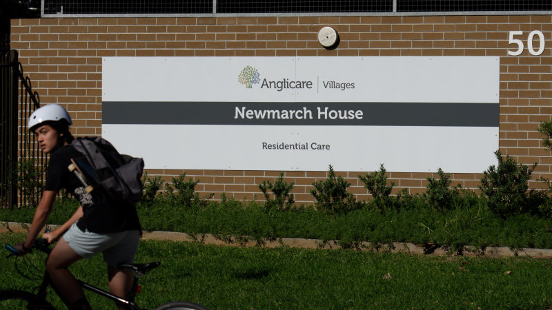 Sixth Newmarch House resident dies, raising NSW's death toll to 34 - Sydney Morning Herald