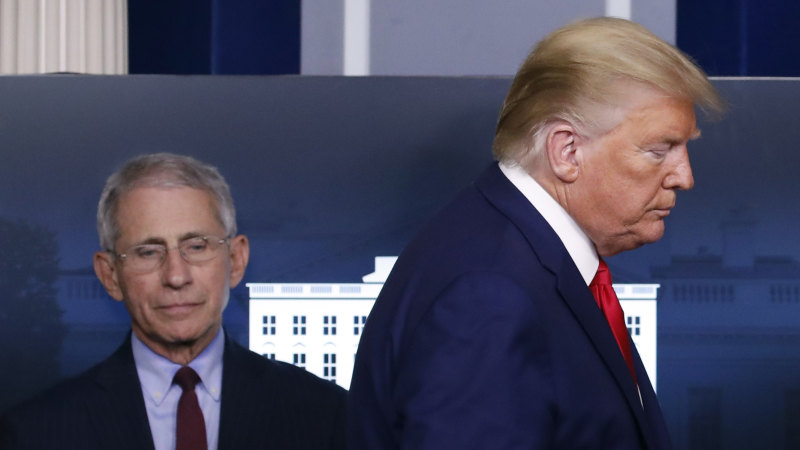 Earlier shutdown would have saved lives: US infectious disease expert Anthony Fauci - Sydney Morning Herald