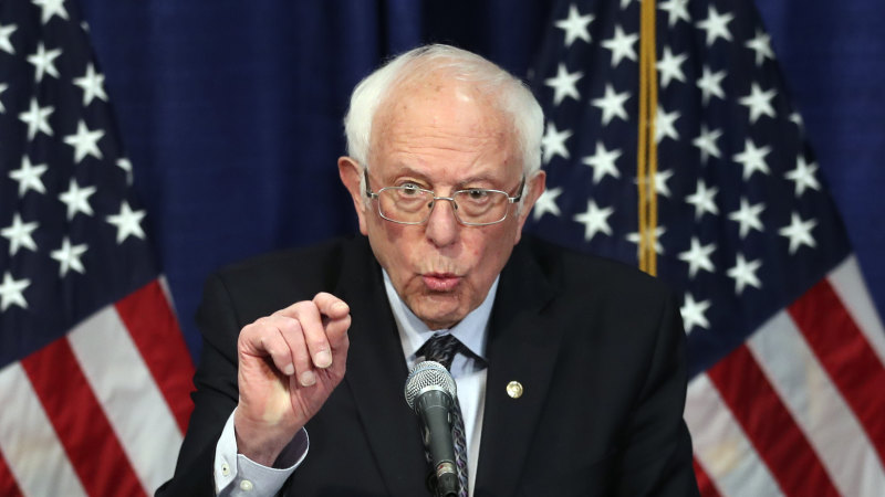 Bernie Sanders ends his 2020 Democratic presidential campaign - Sydney Morning Herald
