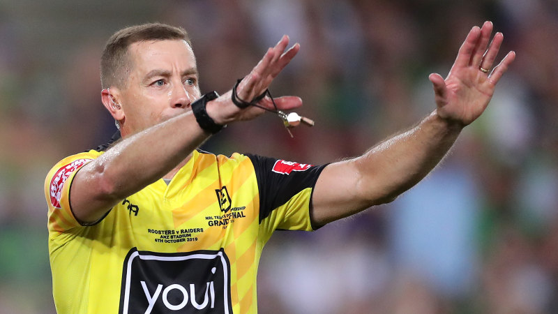 NRL referees head to court and threaten strike action over rule change - Sydney Morning Herald