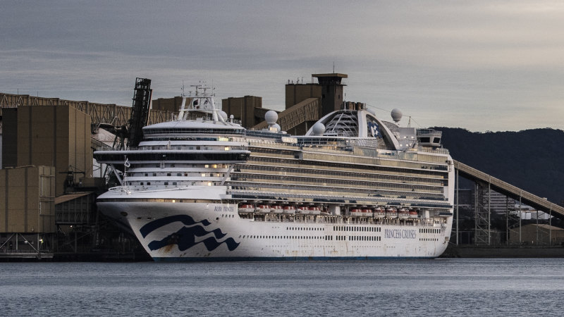 Ruby Princess rushed back to Sydney with COVID-19 swabs - Sydney Morning Herald