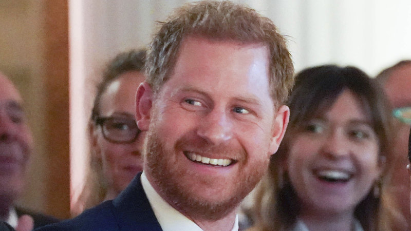 Prince Harry pays tribute to parents in lockdown - Sydney Morning Herald