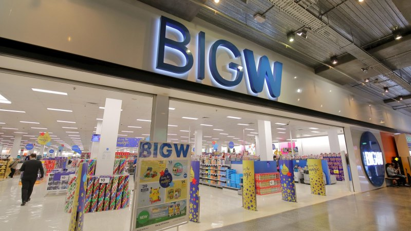 Smaller Target puts Big W in crosshairs - Sydney Morning Herald