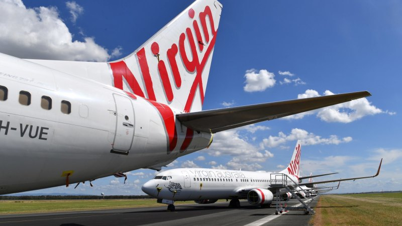 'Terrifying moment': Virgin workers, customers, frequent flyer members face nervous wait for details of collapse - Sydney Morning Herald