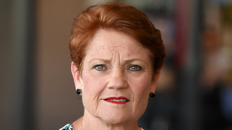 Pauline Hanson imposes 'deadline' of Thursday to reopen Queensland borders - Sydney Morning Herald