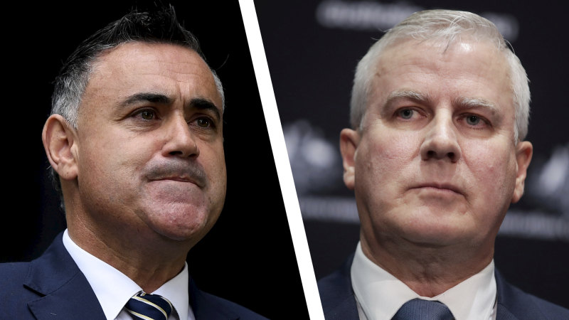 'You failed as a leader': Barilaro's message to McCormack - Sydney Morning Herald