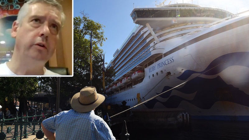 Ruby Princess at centre of outbreak in Tasmania, chief medic says - Sydney Morning Herald