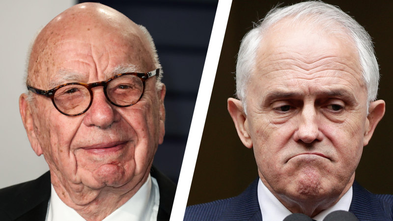 The Oz's Paul Kelly weighs in (in private) on Turnbull v News Corp - Sydney Morning Herald