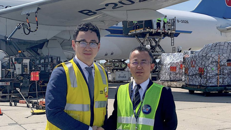 Second developer flew 82 tonnes of medical supplies to China - Sydney Morning Herald