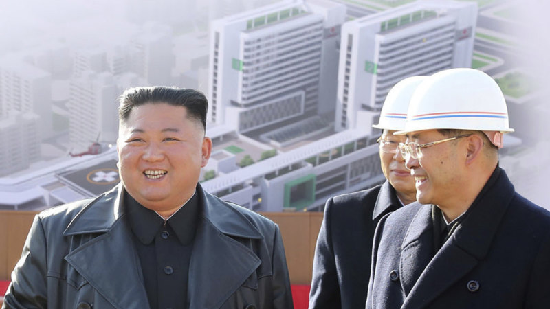 North Korea is building a new hospital. It won't help against COVID-19 - Sydney Morning Herald