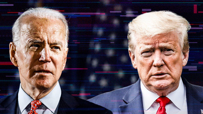 'Am I on?': Biden's glitchy online campaign takes on virtual Trump - Sydney Morning Herald