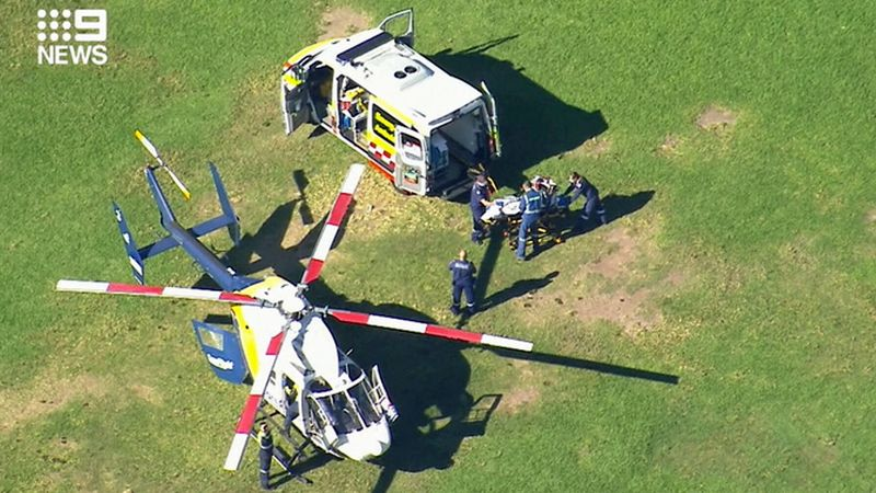 Boy in critical condition after fall at Sydney primary school - Sydney Morning Herald