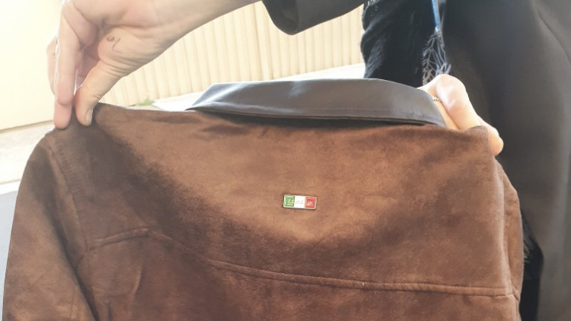 Man charged after allegedly selling fake leather jackets for hundreds of dollars - Sydney Morning Herald