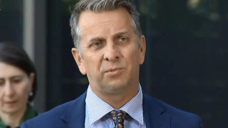 NSW Transport Minister Andrew Constance stripped of senior role - Sydney Morning Herald