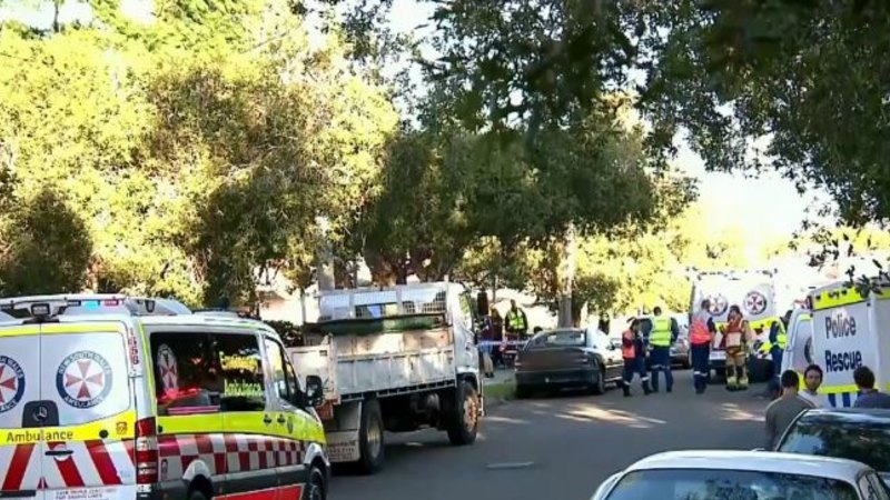 Family of seven escape Sydney house collapse after explosion - Sydney Morning Herald