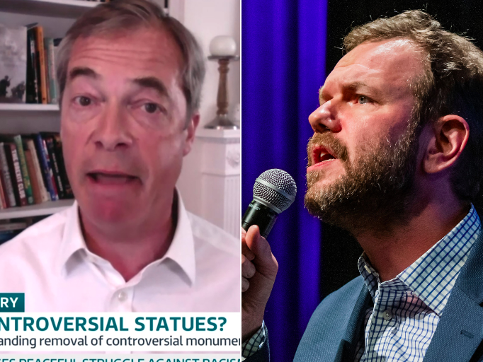 'We got our station back': LBC presenter James O'Brien reacts to Nigel Farage's sudden departure - The Independent