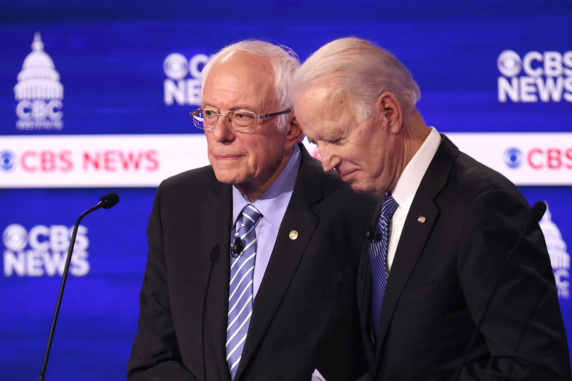 Biden tells Sanders he's pushing ahead with VP, cabinet picks - POLITICO