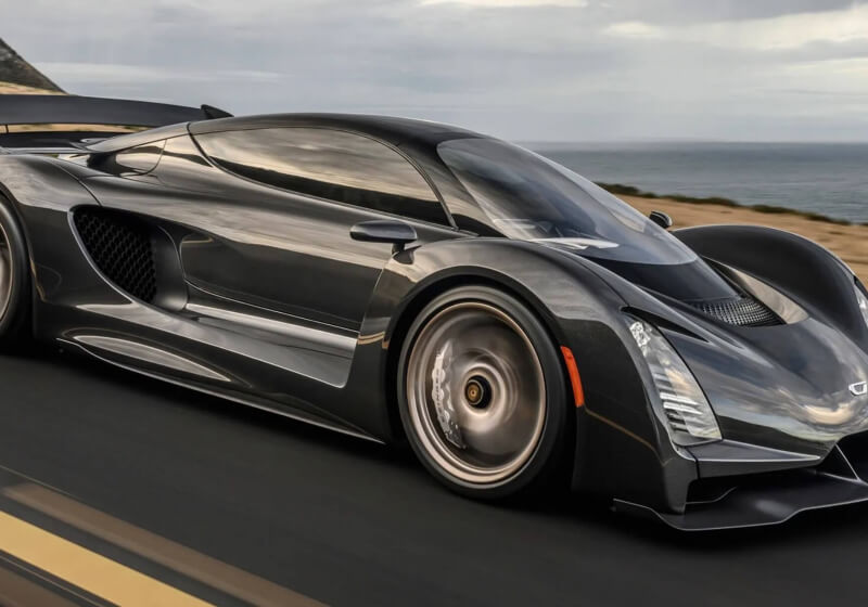 The Czinger 21C is a 3D-printed, $1.7 million hypercar that can do 268mph - TechSpot