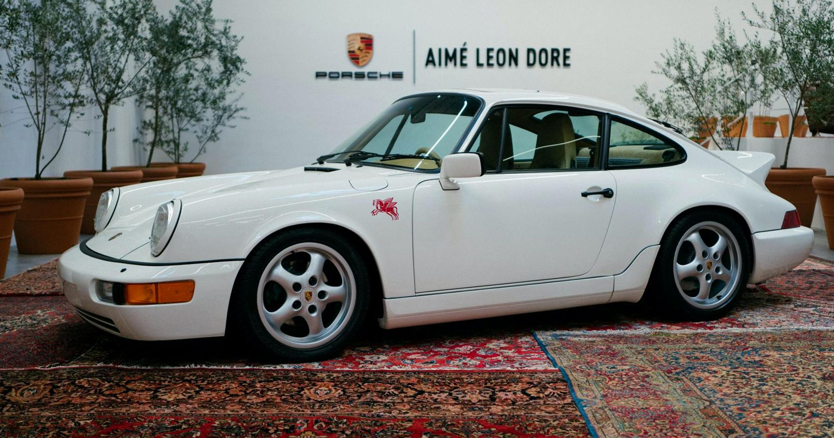 Haute Couture-Inspired Aimé Leon Dore Porsche 964 Ready For The Runway - HotCars