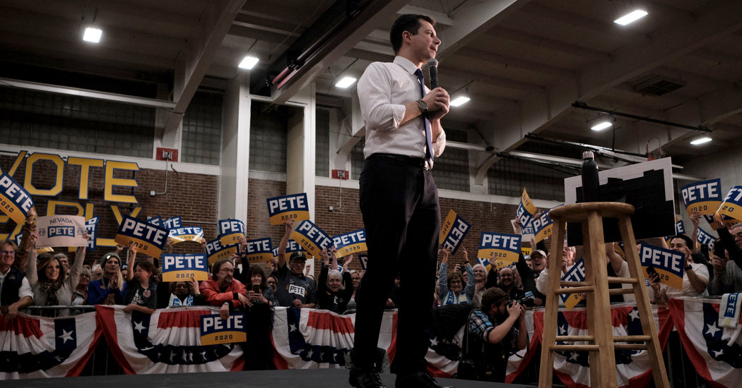 Fact-Checking Pete Buttigieg Before the Nevada Caucuses - The New York Times