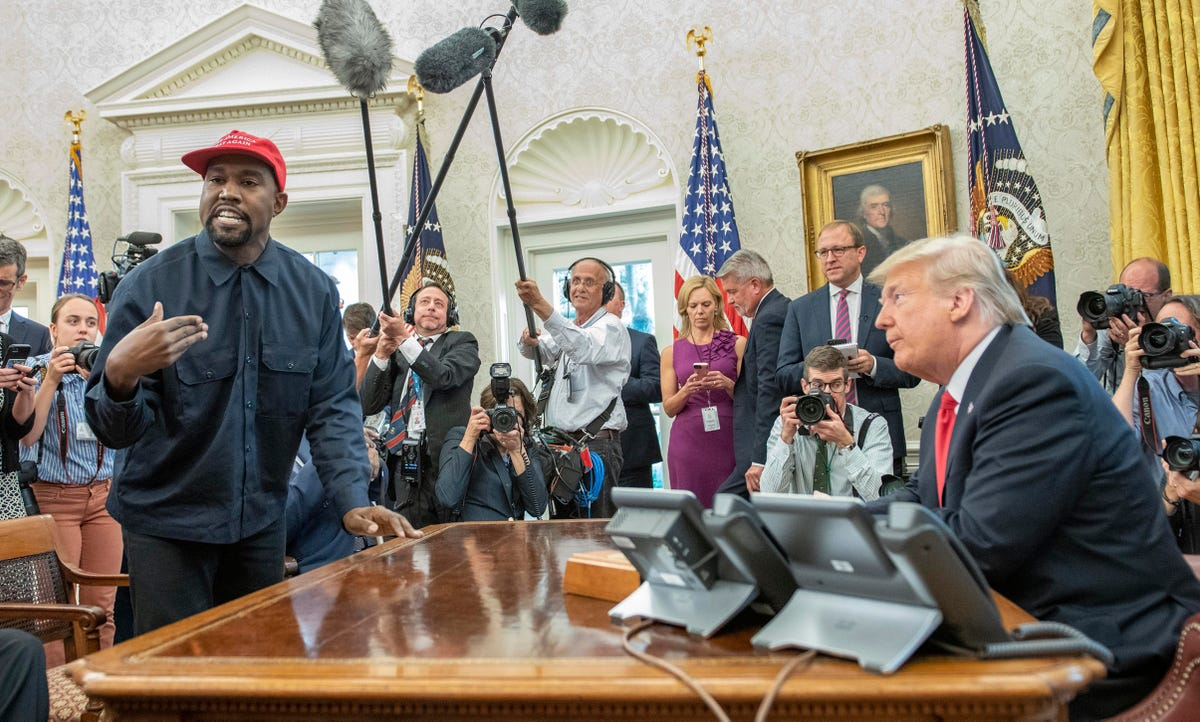 Here's Why A Kanye West Run Might Be More Likely To Hurt Trump - Forbes