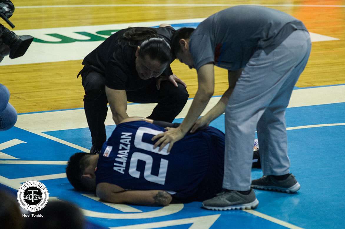 Raymond Almazan suffers meniscal tear in left knee - Tiebreaker Times