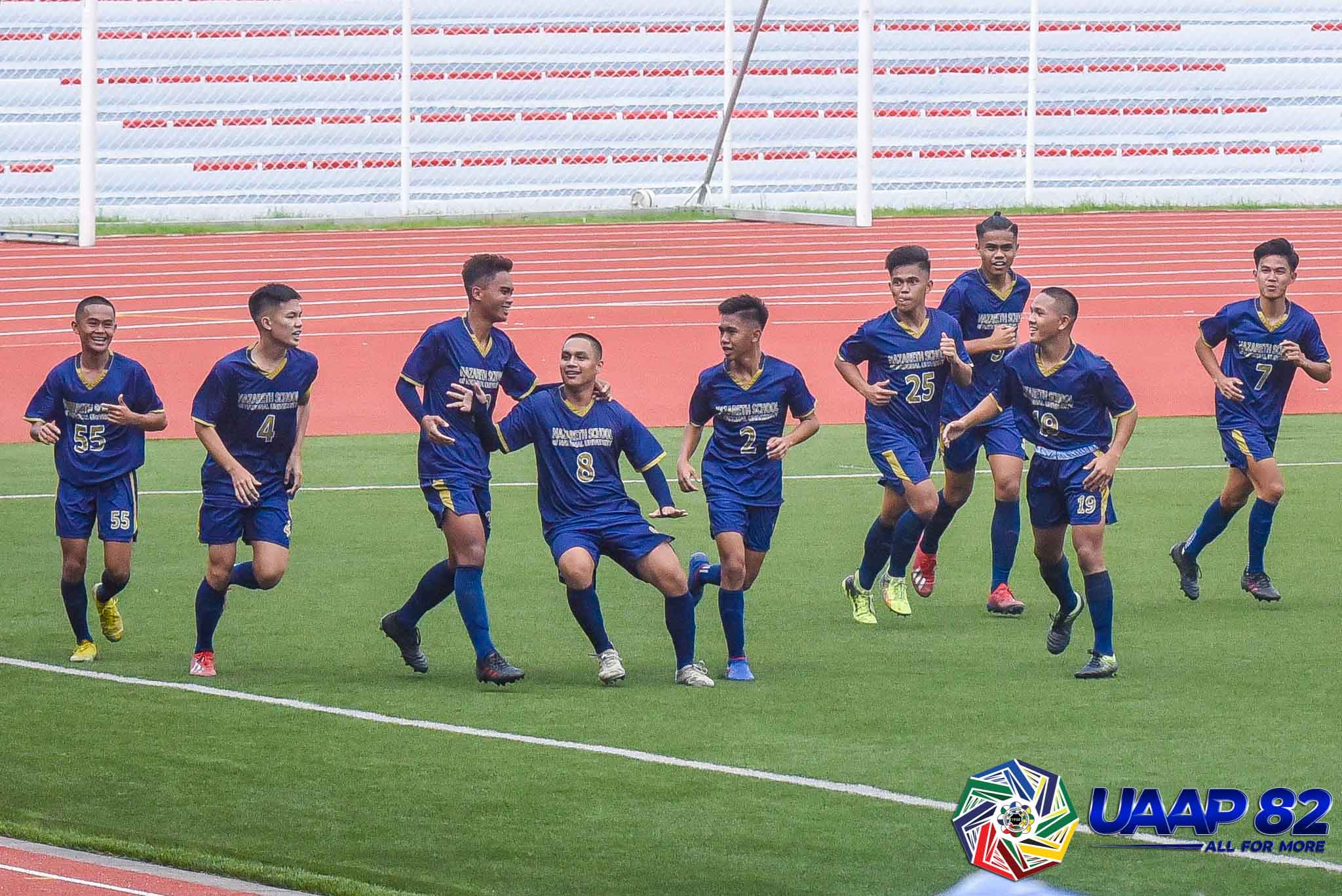 NU Bullpups, Ateneo Blue Eaglets score opening day wins in UAAP Jrs Football - Tiebreaker Times