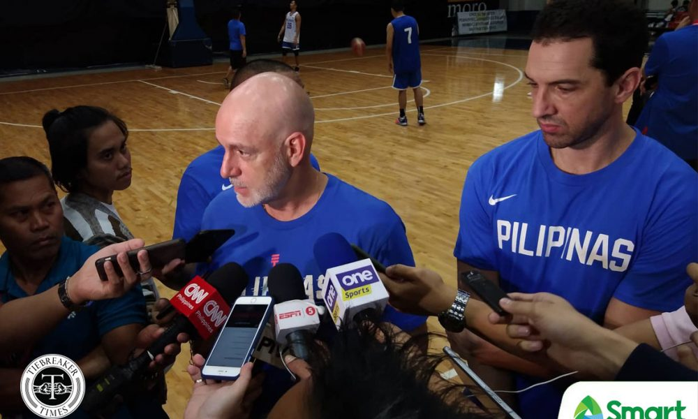 Delay will make Gilas more dangerous vs Indonesia, says Mark Dickel - Tiebreaker Times