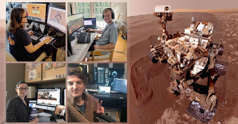 NASA Employees Are Running the Mars Curiosity Rover From Home - Futurism