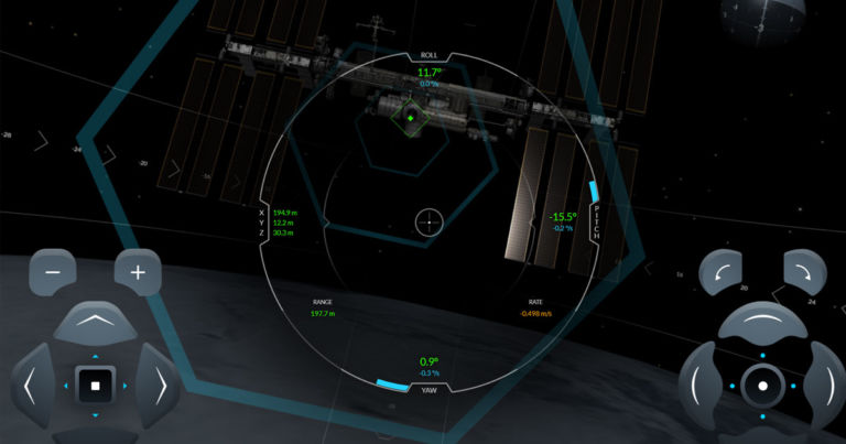 Dock a SpaceX Spacecraft to the ISS in This Amazing Simulator - Futurism