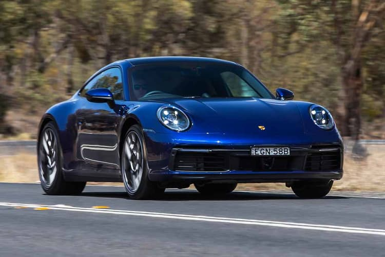 The latest Porsche 911 Carrera Coupe – an entry model but with the works. - 2GB