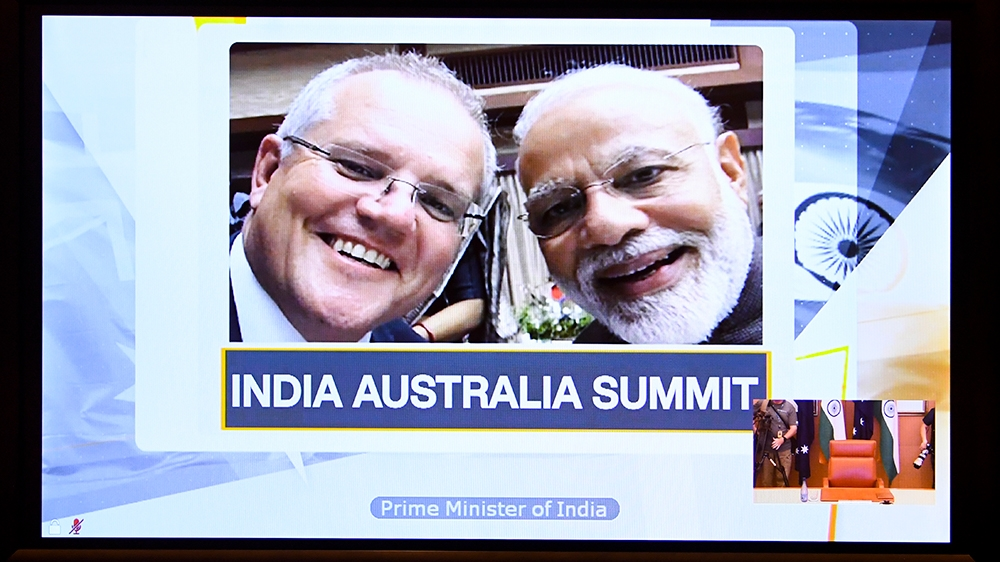 India and Australia sign deal to use each other's military bases - Al Jazeera English