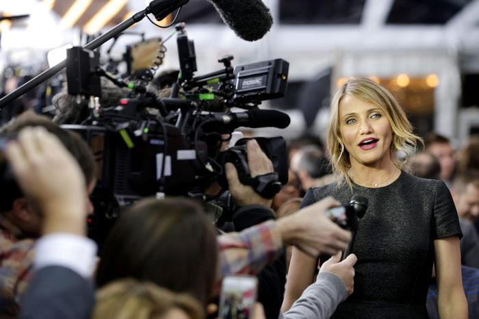 Cameron Diaz, addio al cinema,