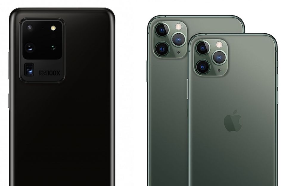 Samsung Galaxy S20 Ultra vs Apple iPhone 11 Pro Max - Apparata