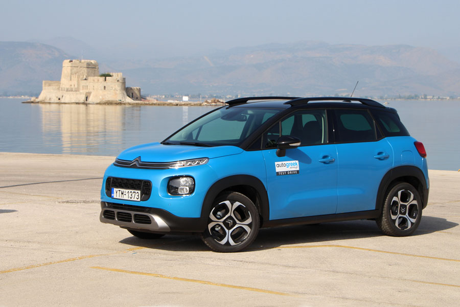 Το πολυτάλαντο μικρό SUV Citroen C3 Aircross (+video) - www.autogreeknews.gr