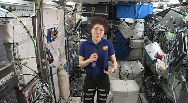 NC State astronaut setting new record for longest single space flight by a woman - CBS17.com