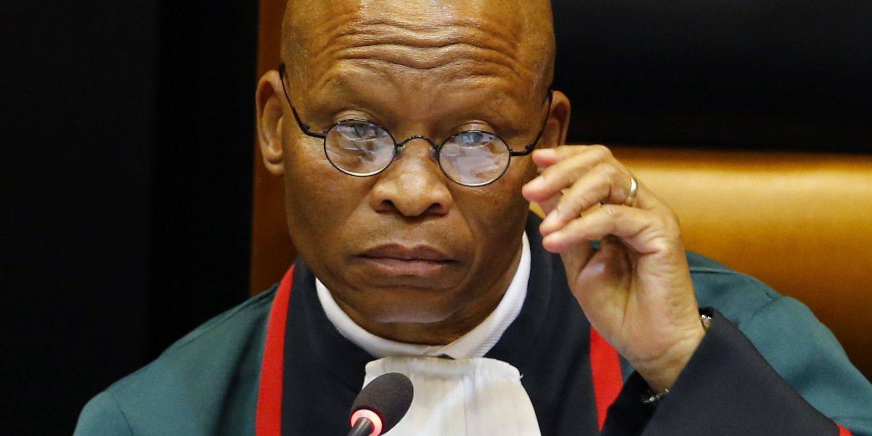 'Judges should not be muzzled': Chief Justice responds to complaint on comments about Israel - Daily Maverick