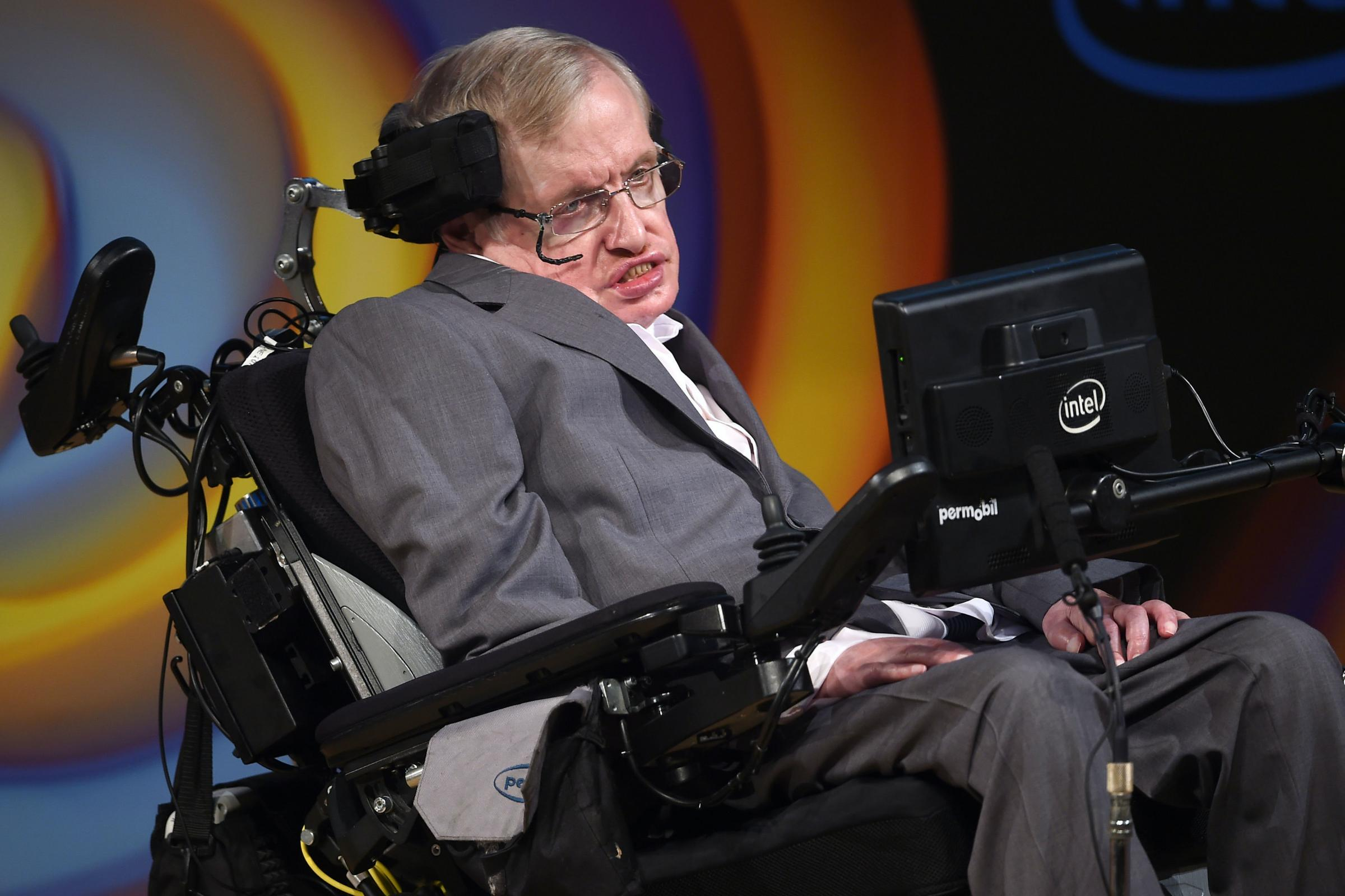Stephen Hawking's ventilator donated to NHS to help coronavirus patients - Dunfermline Press