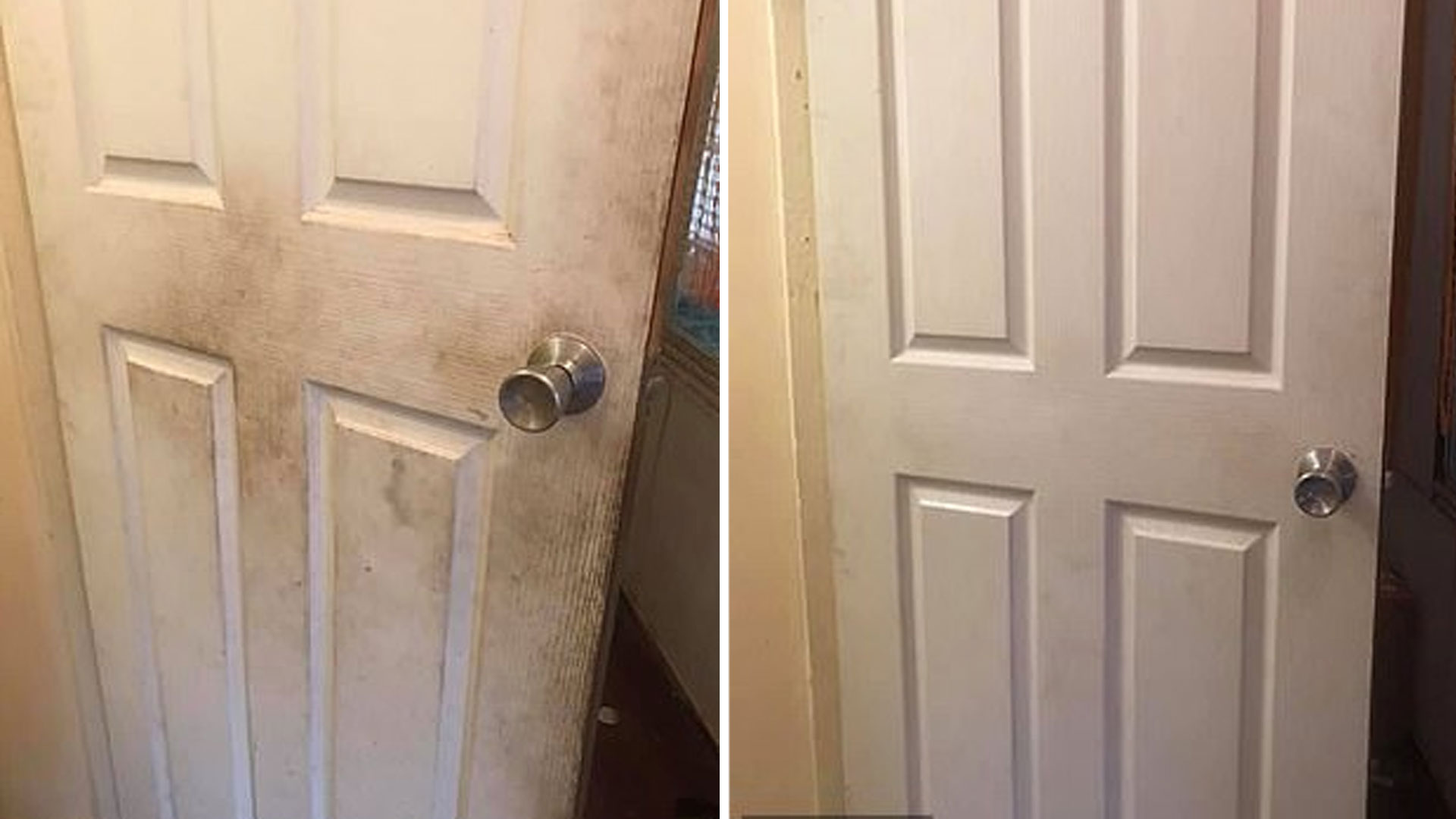 At Home Life Hack! Fabric Softener Is Actually Really Good At Cleaning Walls & Doors 1 - KIIS1065