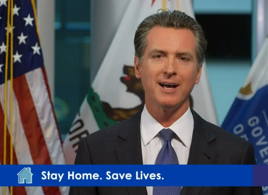 Watch: California Gov. Gavin Newsom discusses conditions that need to be met before COVID-19 stay-at-home orders change - Milpitas Post
