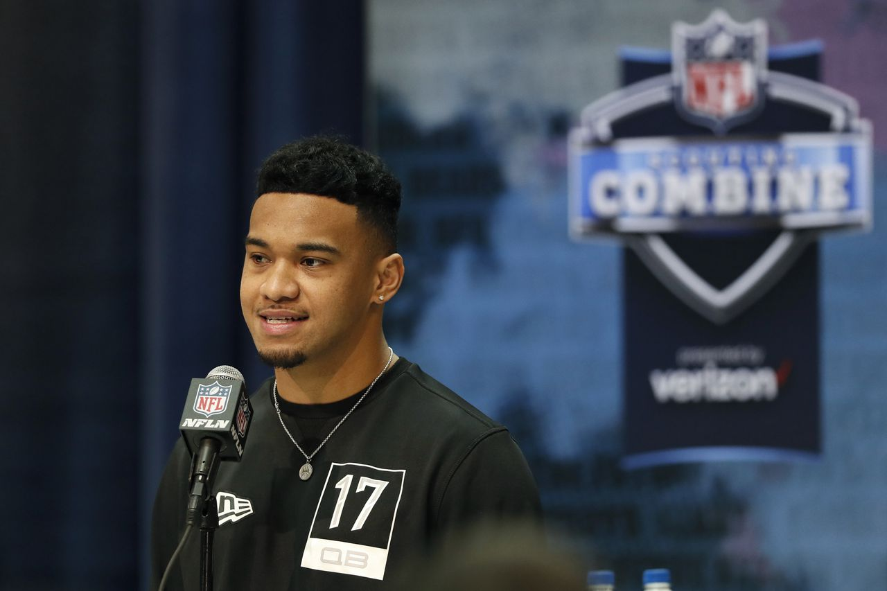 Tua Tagovailoa says he's open to landing with Detroit Lions - MLive.com