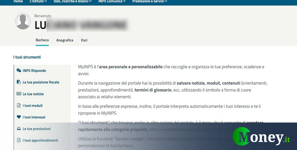 INPS: dati personali esposti online, grave falla di sicurezza - Money.it