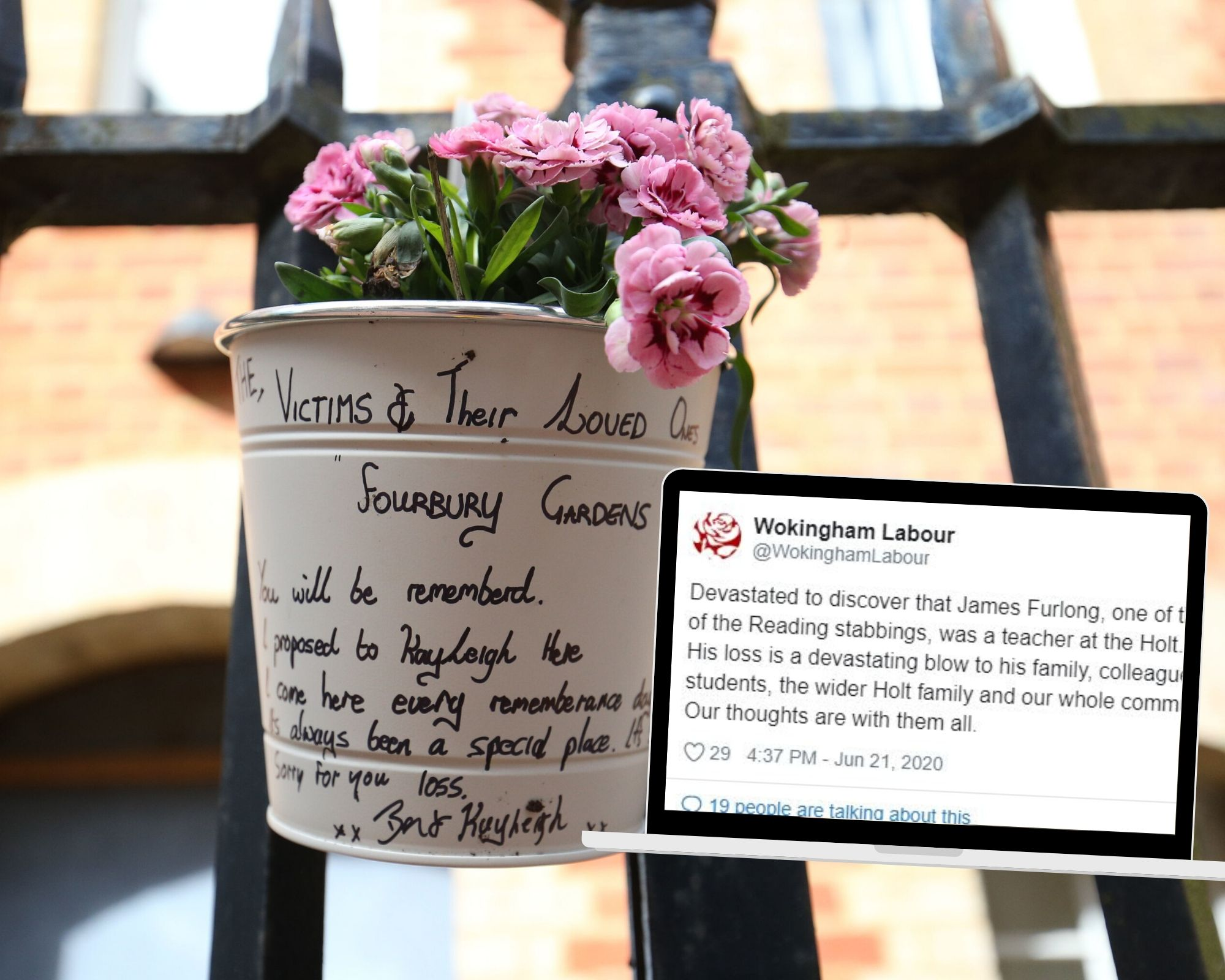 Tributes for Reading terror victim James Furlong, Holt School teacher - Reading Chronicle