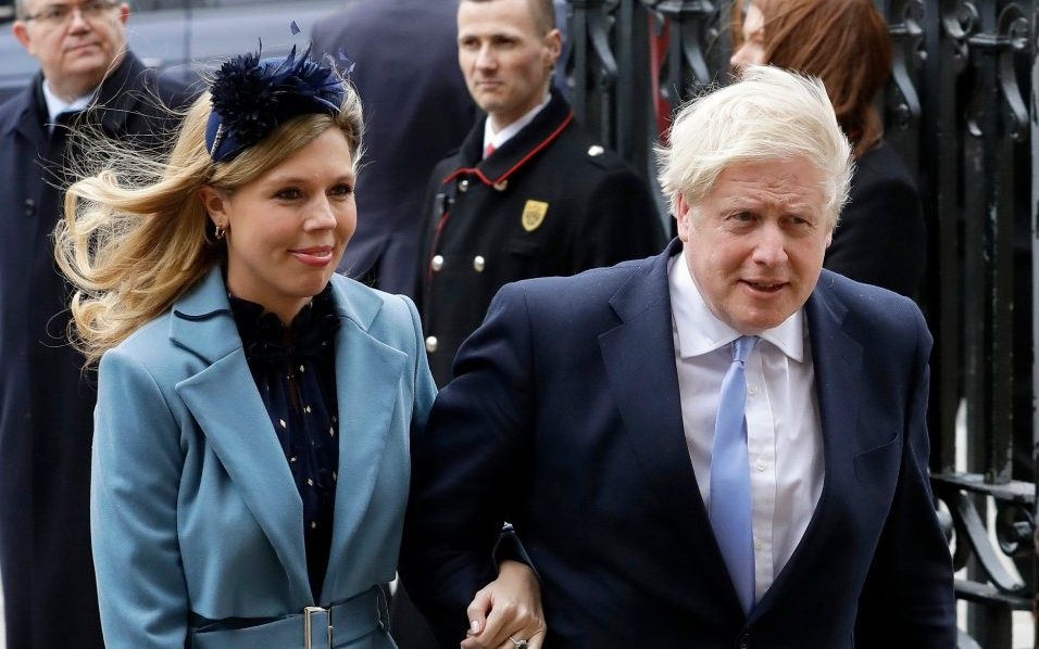 Boris Johnson's pregnant fiancee Carrie Symonds suffers coronavirus symptoms - The Telegraph