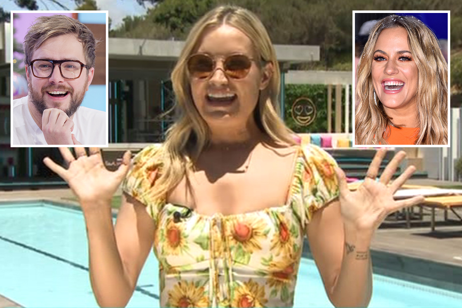 Laura Whitmore reveals Caroline Flack has been in touch as she denies hosting AfterSun with boyfriend Iain - The Sun