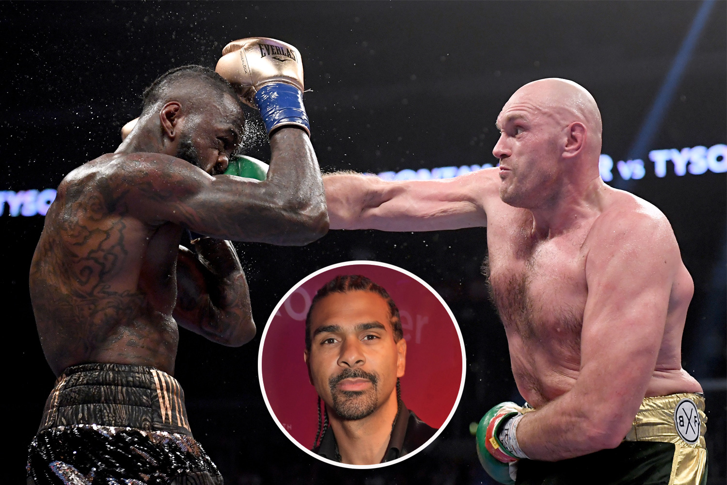 David Haye warns Tyson Fury he's putting his life on line as he chases WBC belt in Deontay Wilder rematch - The Sun